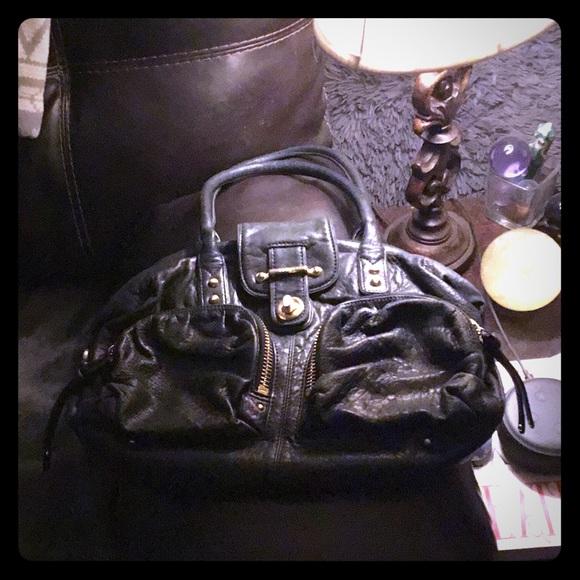 Botkier Handbags - Botkier Black Leather Satchel